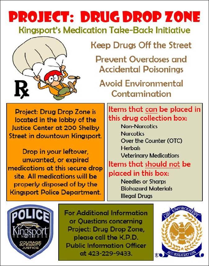 Drug Dropzone Flier
