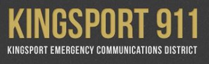 Kingsport 911 Logo