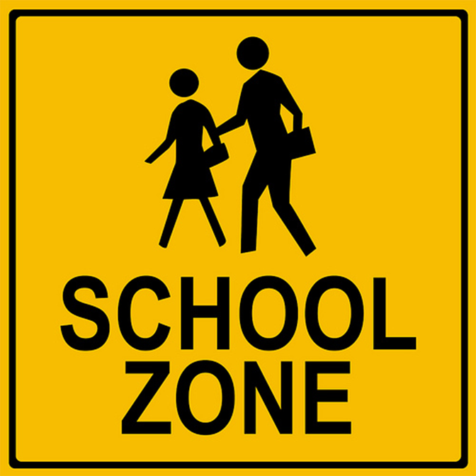 School Zone Logo